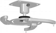 Projektor konzol, univerzális, mennyezeti, fix: 10 cm