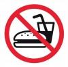 Információs matrica, enni tilos, APLI