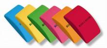 Radír, íves, KOH-I-NOOR, vegyes szín