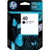 51640AE Tintapatron DeskJet 1200 nyomtatóhoz, HP 40 fekete, 42ml