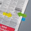 Jelölőcímke, műanyag, 5x25 lap, 25x45 mm, SIGEL