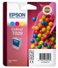 T02940110 Tintapatron Stylus C60 nyomtatóhoz, EPSON színes, 37ml
